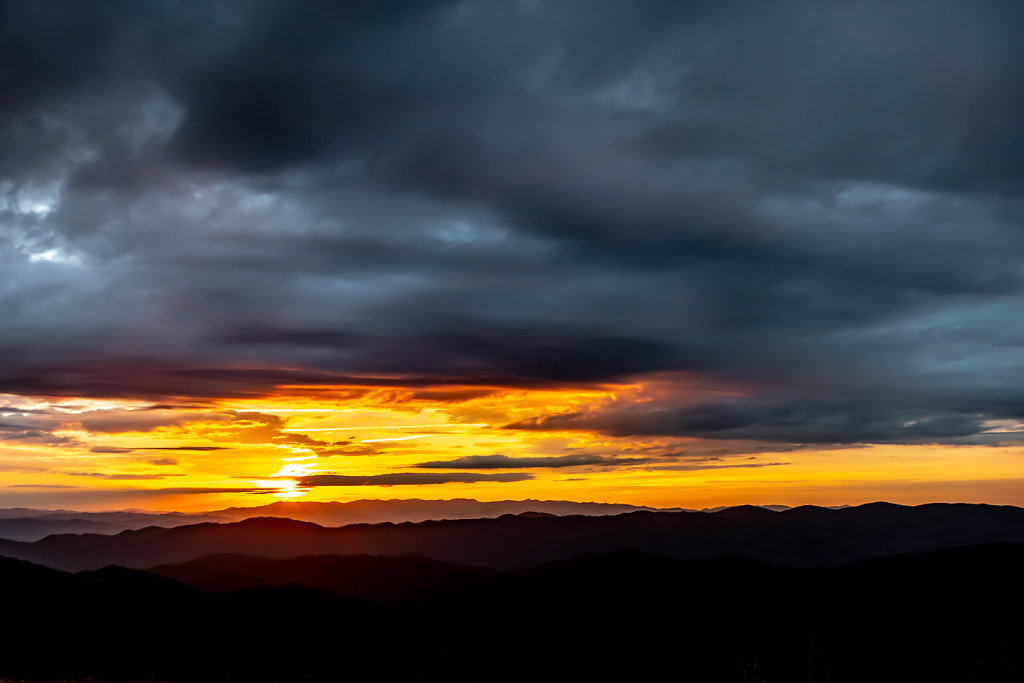 Sunset from Max Patch, NC