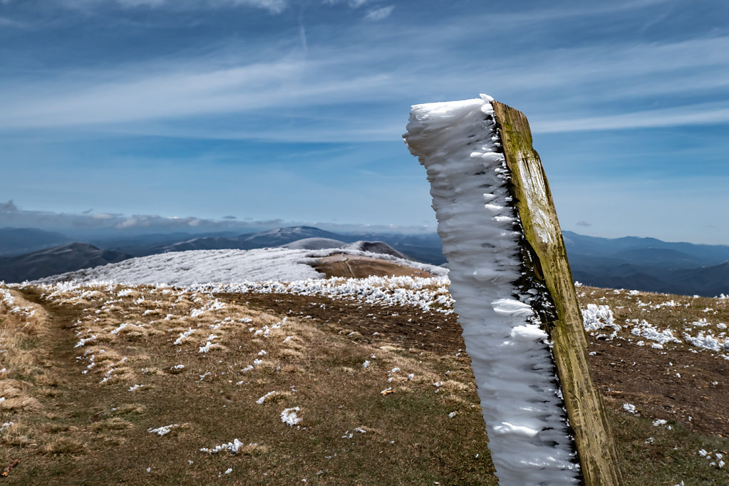 Thru-hike, a Cold that won't let go (NC, TN, VA)