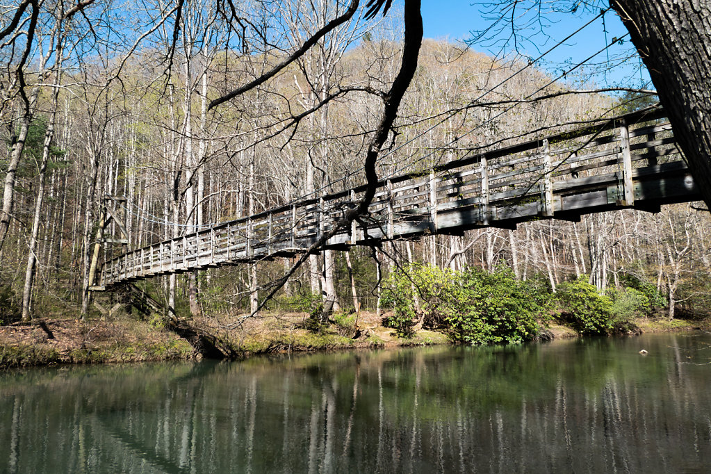 Suspension Bridge, VA