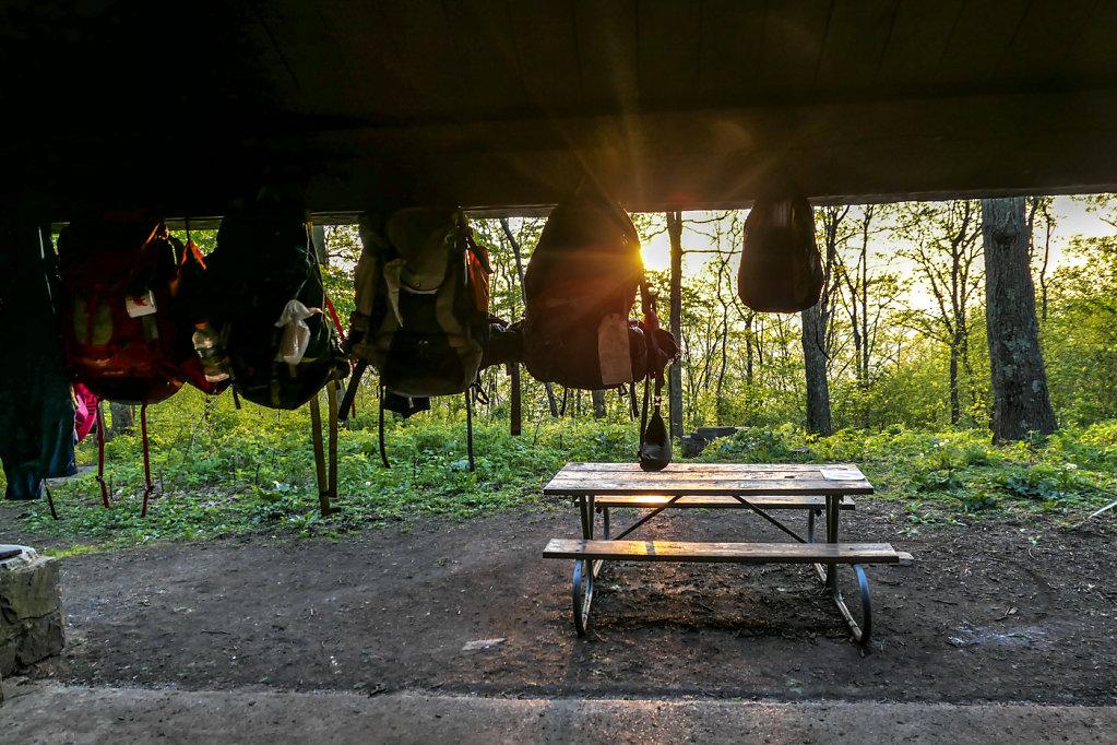 Byrd's Nest 2 Shelter, VA