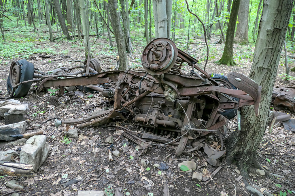 Car Wreck Remains, PA